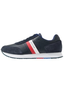 Tommy Hilfiger - CORPORATE FLAG RUNNER - Sneaker low - blue