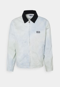 Obey Clothing - TIE DYE WORK - Kevyt takki - good grey multi
