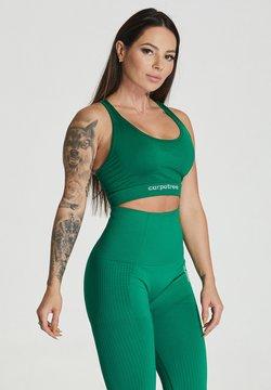 carpatree - ESSENTIAL SEAMLESS - Sport BH - green