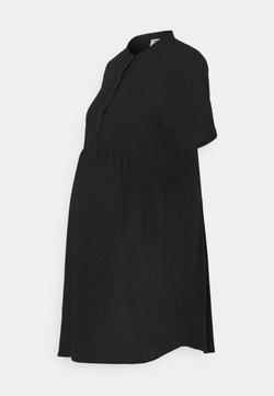 Cotton On - MATERNITY WOVEN TEXTURED MINI DRESS - Vestito estivo - black