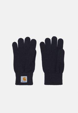 Carhartt WIP - WATCH GLOVES UNISEX - Fingerhandschuh - dark navy