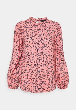 Marks & Spencer London - DITSY FRILL NECK - Bluse - light pink
