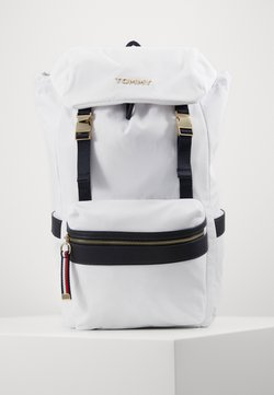 Tommy Hilfiger - BACKPACK - Reppu - white