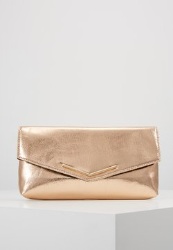 Dorothy Perkins - STITCHED BAR - Clutch - rose gold