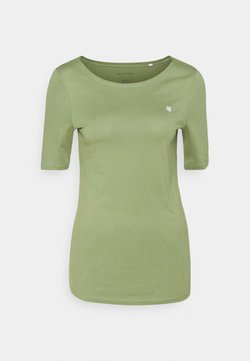 Marc O'Polo - SHORT SLEEVE ROUND NECK - T-Shirt basic - dried sage