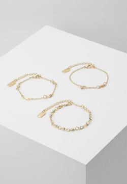 sweet deluxe - 3 PACK - Bracelet - gold-coloured