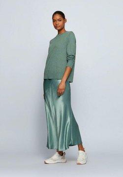 BOSS - FIBINNA - Stickad tröja - open green