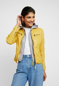 Gipsy - NOHLA - Leren jas - yellow