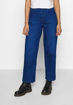Lee - WIDE LEG - Jeans baggy - dark worn