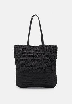 Pieces - PCLINOALDO SHOPPER - Shoppingväska - black