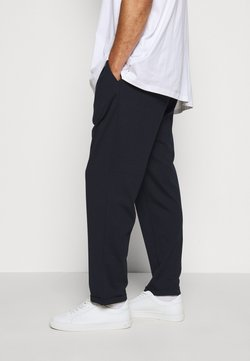 INDICODE JEANS - EBERLEIN WITH ROLL UP - Pantalon classique - navy