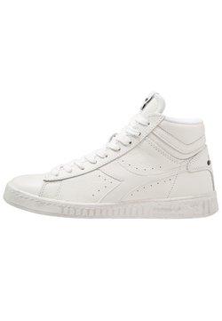 Diadora - GAME WAXED - Sneakers hoog - white