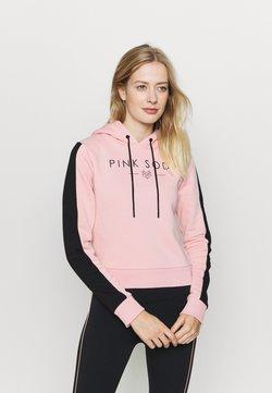 Pink Soda - YARROW HOODIE - Huppari - pink black