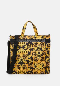 Versace Jeans Couture - UNISEX - Shopping bag - black/gold