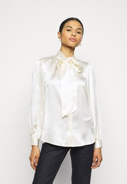 Tory Burch - BOW BLOUSE - Button-down blouse - new ivory