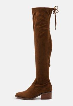 Steve Madden - GERARDINE - Over-the-knee boots - brown