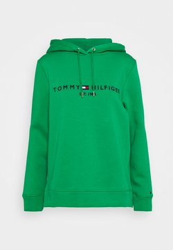 Tommy Hilfiger - REGULAR HOODIE - Sweat à capuche - primary green