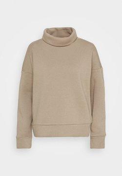 Noisy May - NMASYA NEW ROLL NECK - Sweater - taupe gray