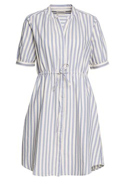 Selected Femme - SLFZENIA DRESS PETITE - Vestido camisero - country blue/sandshell