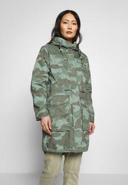 edc by Esprit - CAMOUFLAGE - Parka - khaki green