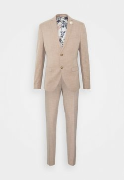 Isaac Dewhirst - WEDDING COLLECTION - SLIM FIT SUIT - Anzug - beige