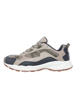 The North Face - ARCHIVE TRAIL KUNA CREST - Sneaker low - vintage khaki/urban navy