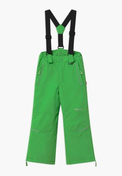 TrollKids - KIDS HOLMENKOLLEN SNOW SLIM FIT UNISEX - Täckbyxor - bright green