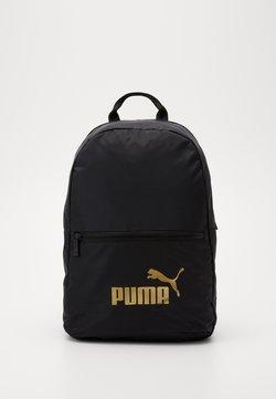 Puma - CORE SEASONAL DAYPACK - Ryggsäck - black solid