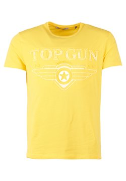 TOP GUN - SCHLICHT BLING - T-shirt print - yellow