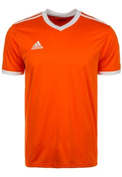 adidas Performance - TABELA 18 - T-Shirt print - orange/white