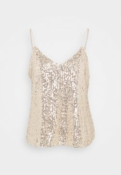 Banana Republic - PERFECT CAMI SEQUINS - Toppi - champagne cocktail