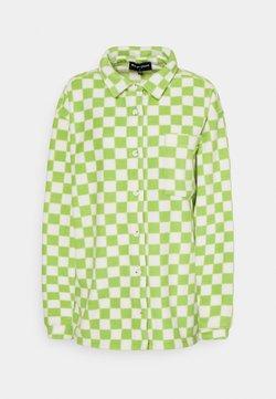 NEW girl ORDER - CHECKERBOARD - Fleece jacket - green