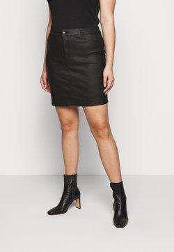 Vero Moda Curve - VMSEVEN SHORT SKIRT - Minirock - black