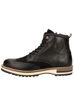 Pantofola d'Oro - Schnürstiefelette - black