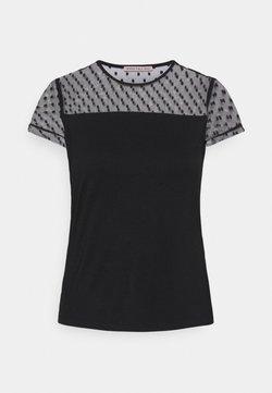 Anna Field Petite - T-Shirt print - black denim