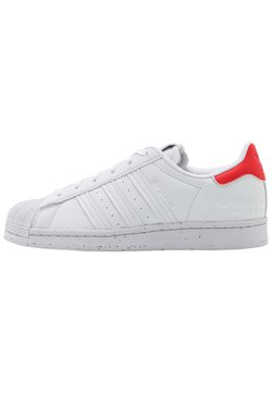 adidas Originals - SUPERSTAR - Sneaker low - footwear white/red