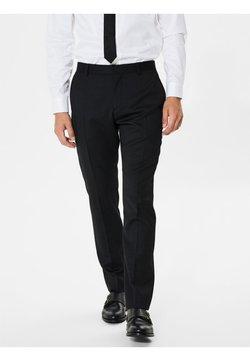 Selected Homme - Dressbukse - dark grey melange