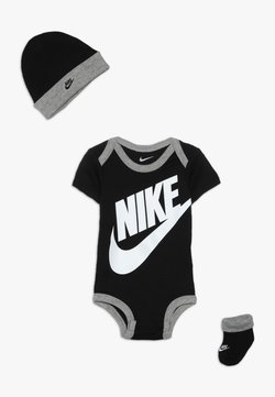 Nike Sportswear - FUTURA LOGO HAT BOOTIE BABY SET - Body - black