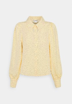 Monki - NALA BLOUSE - Camicia - yellow dusty