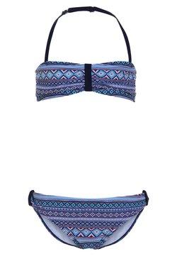s.Oliver - BANDEAU SET - Bikini - blue
