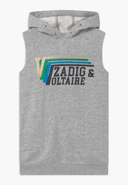 Zadig & Voltaire - HOODED - Freizeitkleid - grey