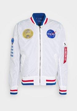 Alpha Industries - NASA VOYAGER - Giubbotto Bomber - white