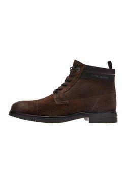 Pepe Jeans - THOMAS FLEX - Schnürstiefelette - marrón oscuro