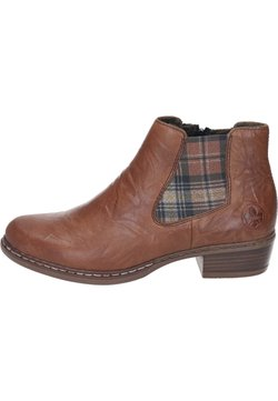 Rieker - Ankle Boot - cuoio/whisky-karo