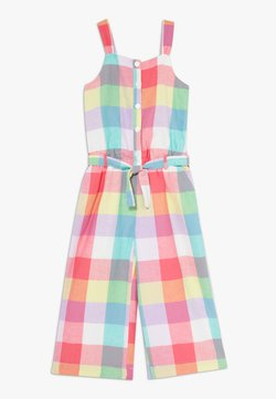 GAP - GIRL PLAID - Combinaison - ivory frost