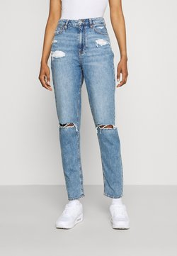American Eagle - MOM  - Slim fit jeans - empire blue