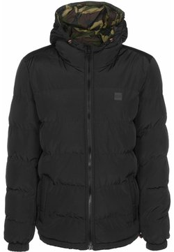 Urban Classics - Winterjacke - black/woodcamo