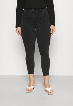Noisy May Curve - NMAGNES SKINNY JEANS  - Jeans Skinny - black denim