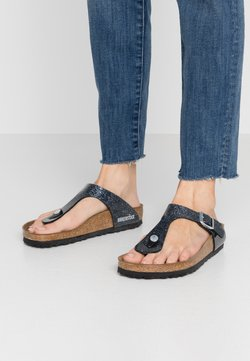 Birkenstock - GIZEH - Tongs - cosmic sparkle anthracite
