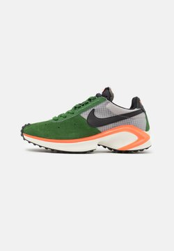 Nike Sportswear - D/MS/X WAFFLE - Trainers - forest green/black/college grey/hyper crimson/sail